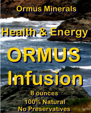 Ormus Minerals -Health and Energy Ormus Infusion